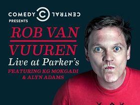 Rob Van Vuuren Live at Parkers