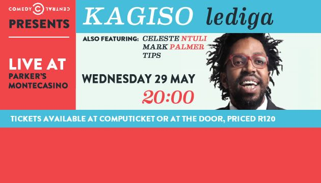 Win Tickets to see Kagiso Live!