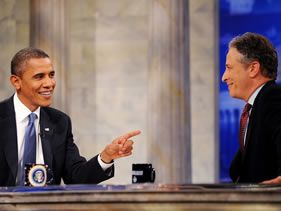 "PRESIDENT BARACK OBAMA TO APPEAR AS A GUEST ON ""THE DAILY SHOW WITH JON STEWART"
