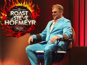 THE COMEDY CENTRAL ROAST OF STEVE HOFMEYR TO BLAZE A NEW TRAIL FOR COMEDY IN SOUTH AFRICA