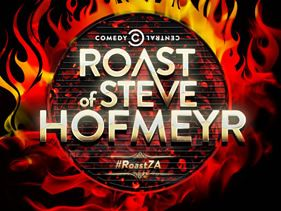 COMEDY CENTRAL STOKES UP THE FIRES FOR THE COMEDY CENTRAL ROAST OF STEVE HOFMEYR